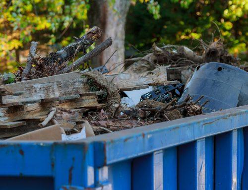 Организирайте пролетно почистване с контейнер под наем
